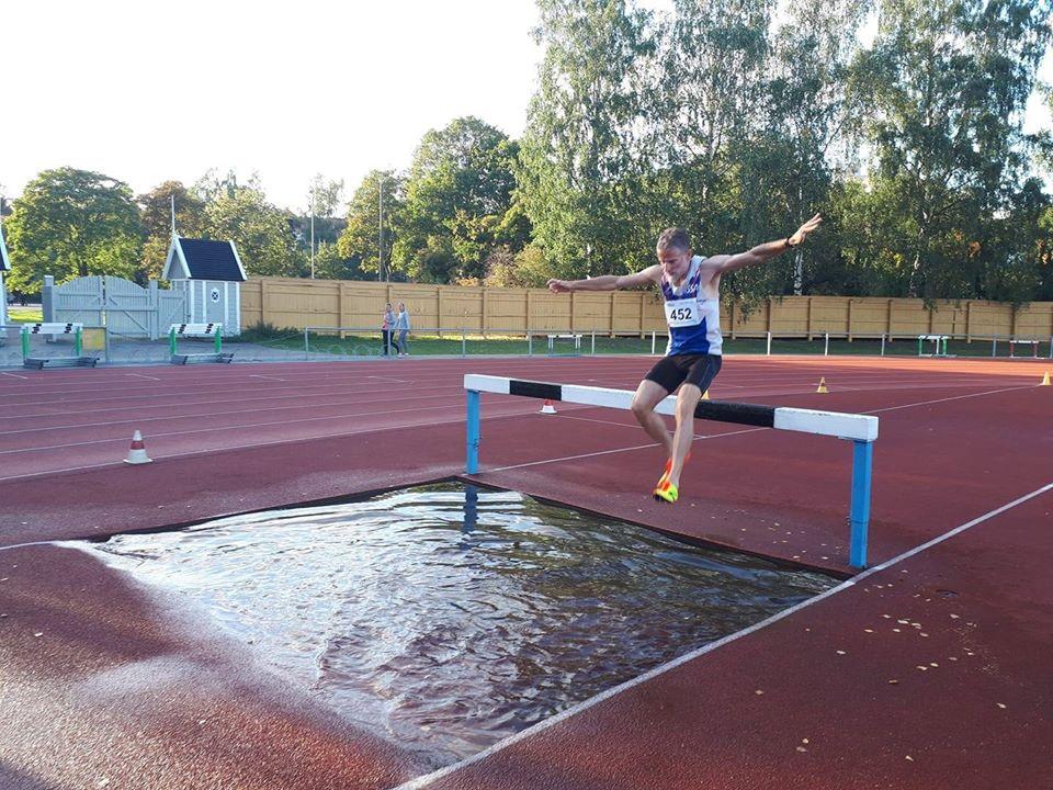 Thomas Collinet aux Championnats du Monde icosathlon Helsinki 2019 sur 3000m steeple