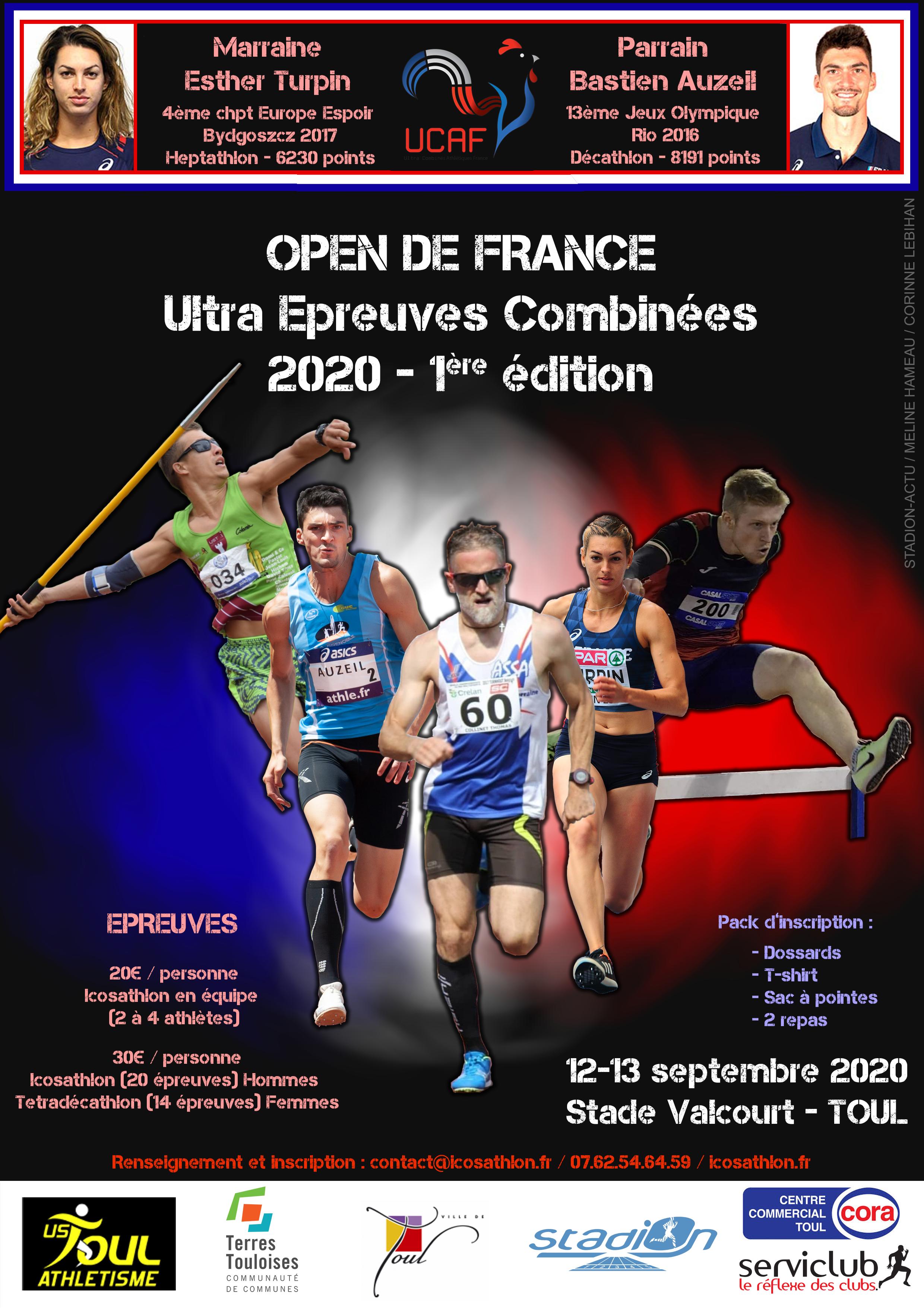 Affiche Open de France toul 2020